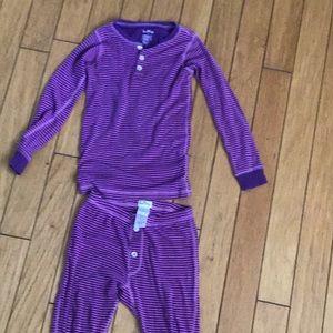 Hatley purple pajamas never worn